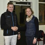 BOTRA Claiming Novice Drivers Series winner Conor Crook with Alicia Fuller