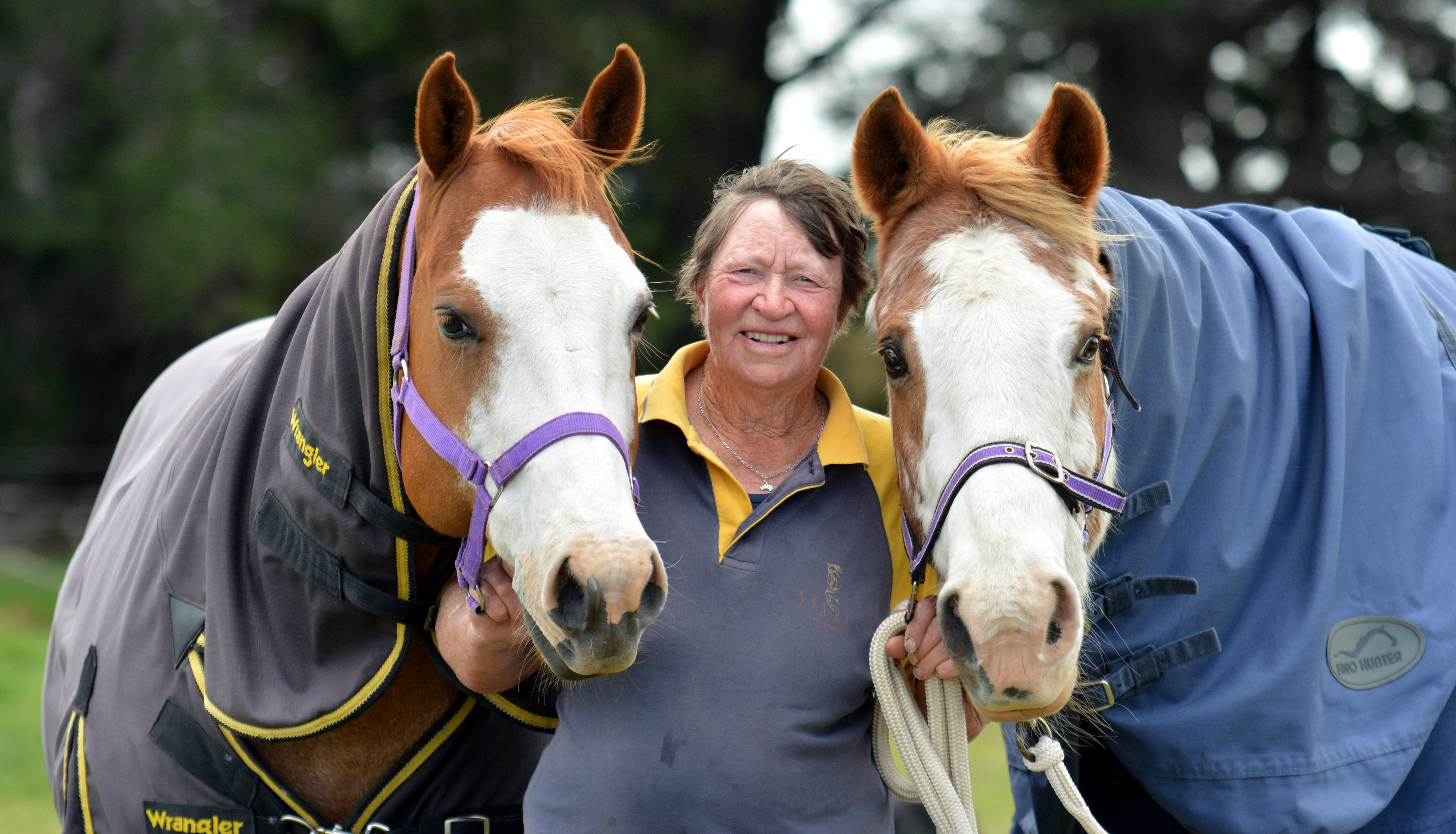 Beryl couldn't imagine life without horses